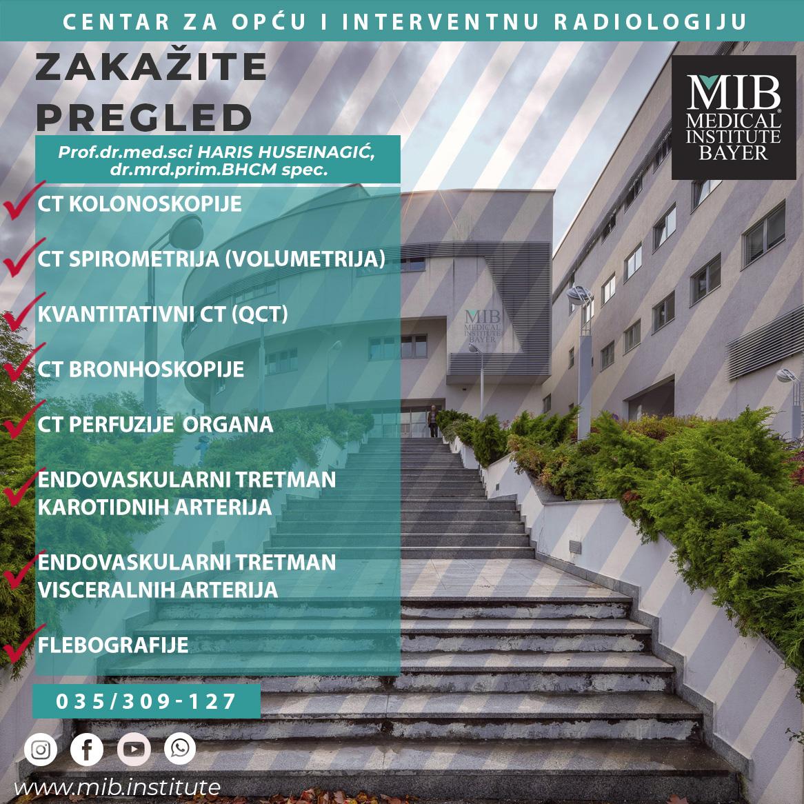 Centar za opću i interventnu radiologiju – INFO