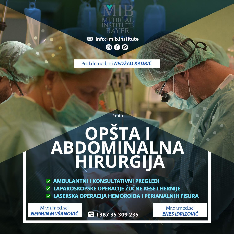 Opšta i abdominalna hirurgija